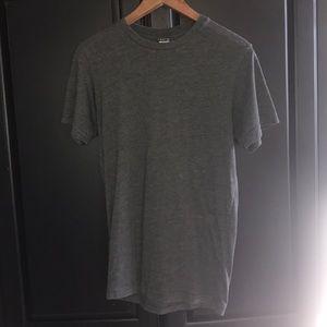 Plain dark grey Volcom shirt